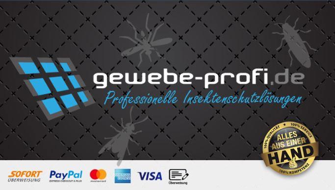 Fliegengitter – Insektenschutz mit effektiver Masche vom Gewebe-Profi - Gewebe P