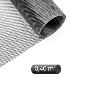 Fiberglas auf Rolle schwarz 0,40 m Breite